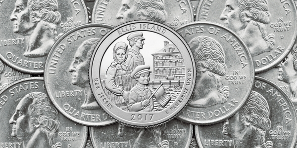 """Island of Hope"" Quarter Introduced at Ellis Island"