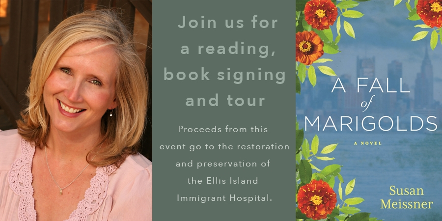 Meet Susan Meissner, Author of A Fall of Marigolds